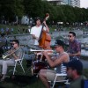 Sweet jazz tunes on a grassy knoll: Carlo Rossi Gang
