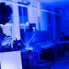 Bathed in Blue Light, Banging Steam