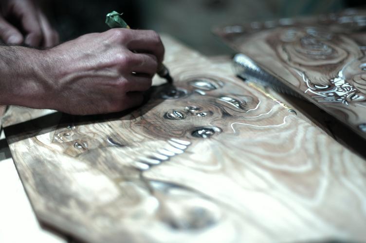 Wood art by Bradley Messer