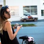 Cycle Chic Social at Chapel Arts, Vancouver BC, July 2013