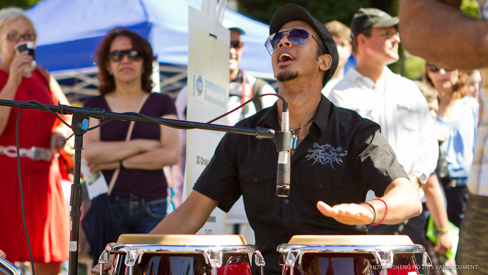 VANDOCUMENT at Khatsahlano Music and Arts Festival, Vancouver BC, 2013. Photo by Sheng Ho