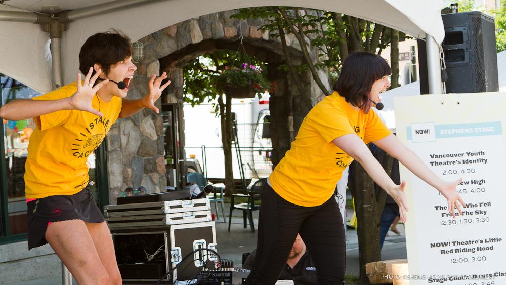 VANDOCUMENT at Khatsahlano Music and Arts Festival, Vancouver BC, 2013. Photo by Sheng Ho