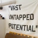 Vast Untapped Potential by artist Lauren Marsden, photo by Sheng Ho for VANDOCUMENT