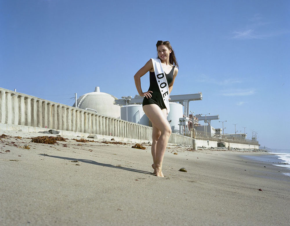 The Department of Energy Welcomes You to the California Coast (2009) Miss Department of Energy (DOE) by Lauren Marsden