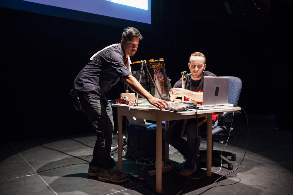 Brendan Tang & Zeb L. West. Photo by Kyla Bailey