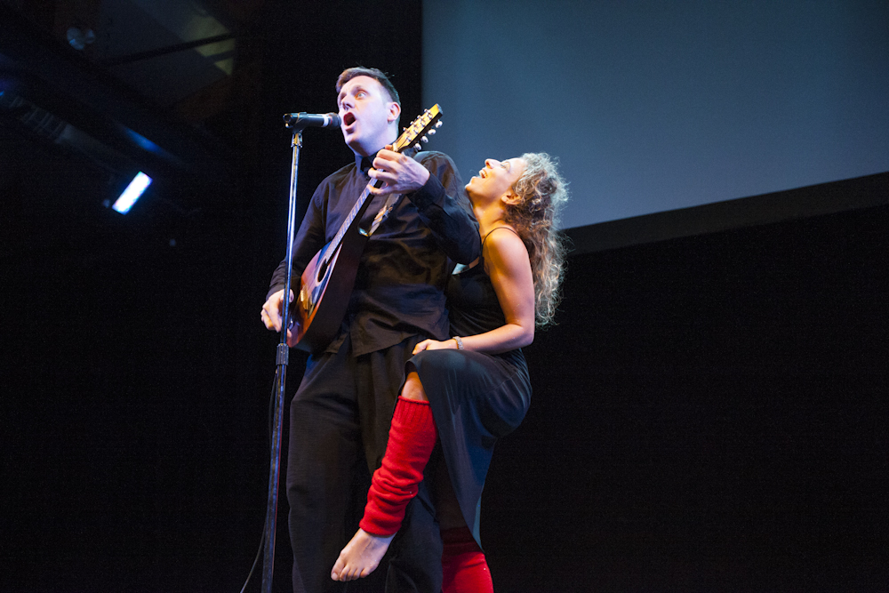 Steve Larkin & Deanna Fleysher. Photo by Kyla Bailey