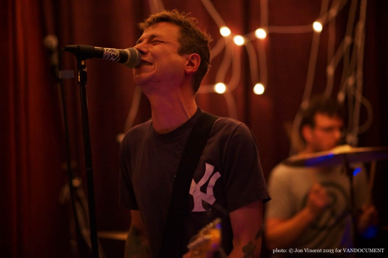 The Reposessors @ Lana Lou's, Vancouver BC, 2013. Photo by Jon Vincent for VANDOCUMENT