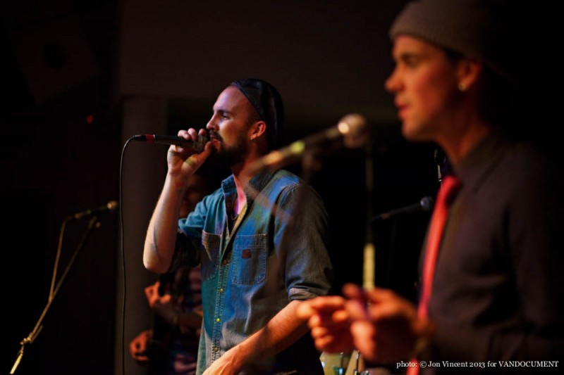 The BOOM BOOMS @ Chapel, Vancouver BC, 2013. Photo by Jon Vincent for VANDOCUMENT