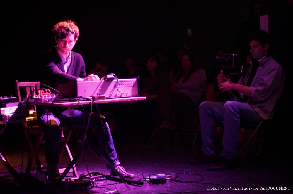 Colonizer performing at Destroy Vancouver, Snooze Fest @ VIVO, Sept 26 2013. Photo by Jon Vincent for VANDOCUMENT