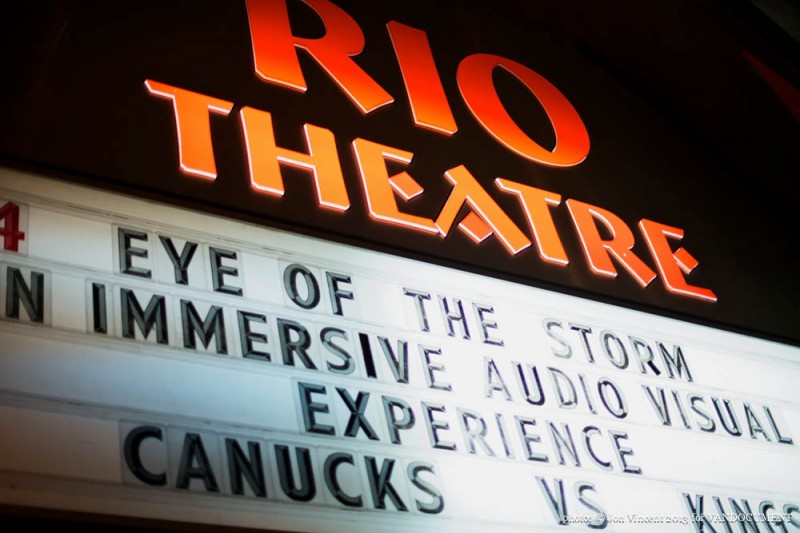 Eye of the Storm V @ Rio Theatre. Photo by Jon Vincent for VANDOCUMENT 2013