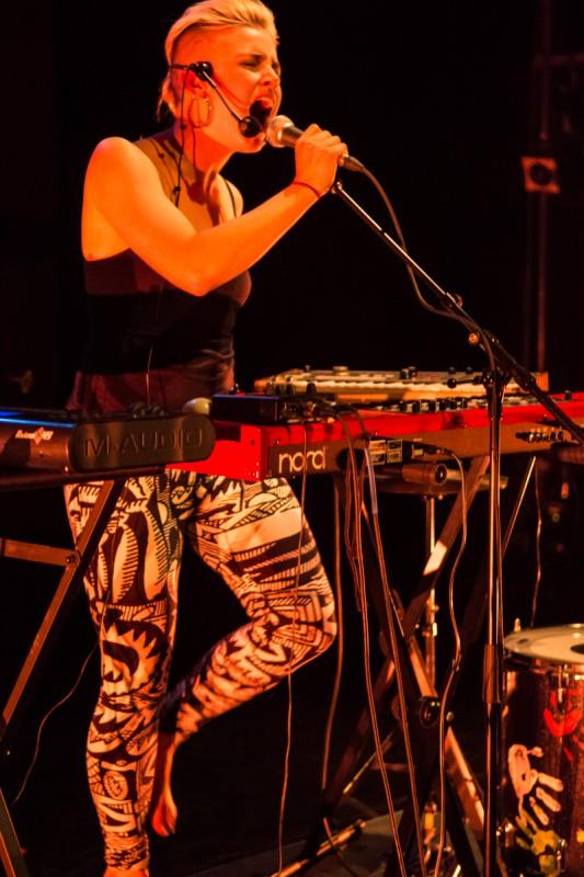 Chersea performing at 2013 LAUNCH Festival, SFU Woodwards, Vancouver BC. Photo by Ash Tanasiychuk