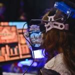 David Clement: VR Headset Exploration @ Vancouver Mini Maker Faire, 2014. Photo by Alisha Weng for VANDOCUMENT