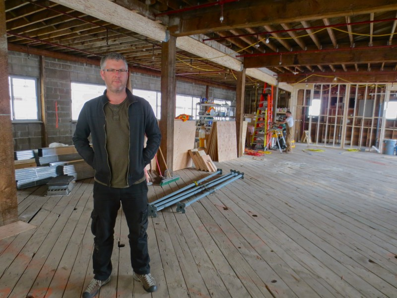 Elia Kirby of Great Northern Way Scene Shop and Arts Factory