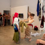 Mine Agente performance @ Emily Carr University of Art & Design, Vancouver BC, 2014. Photo by Ravi Gill for VANDOCUMENT