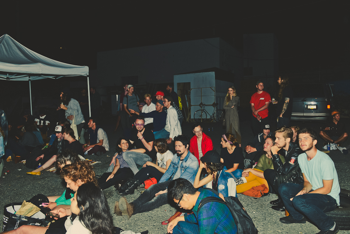 Sounds at Sunset at Sunset Terrace, Vancouver BC 2014. Photo by Alisha Weng for VANDOCUMENT