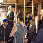 Opening night, Thru The Trapdoor, 1965 Main St, Vancouver BC, 2014. Photo by Ash Tanasiychuk for VANDOCUMENT