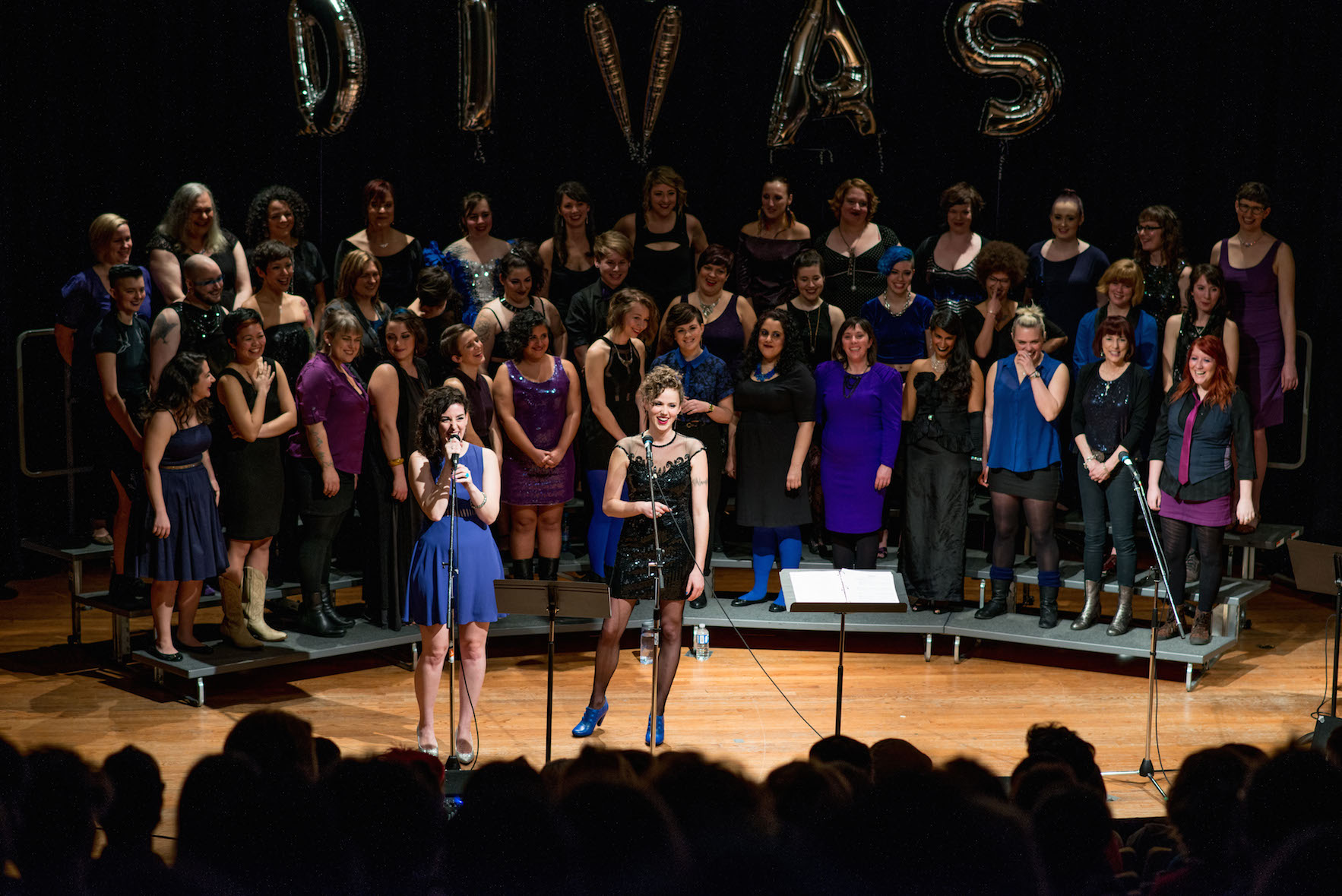 Femme city choir in divas! at vancouver community college auditorium, vancouver bc 2015 photo by rdm photography and