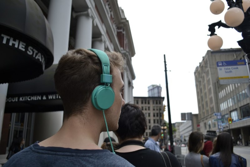 Invisible City. Soundwalk. Photos by Christian Vistan courtesy of Popcorn Galaxy. Vandocument 2015.