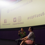 Front Cover at VQFF. Photo by Ash Tanasiychuk
