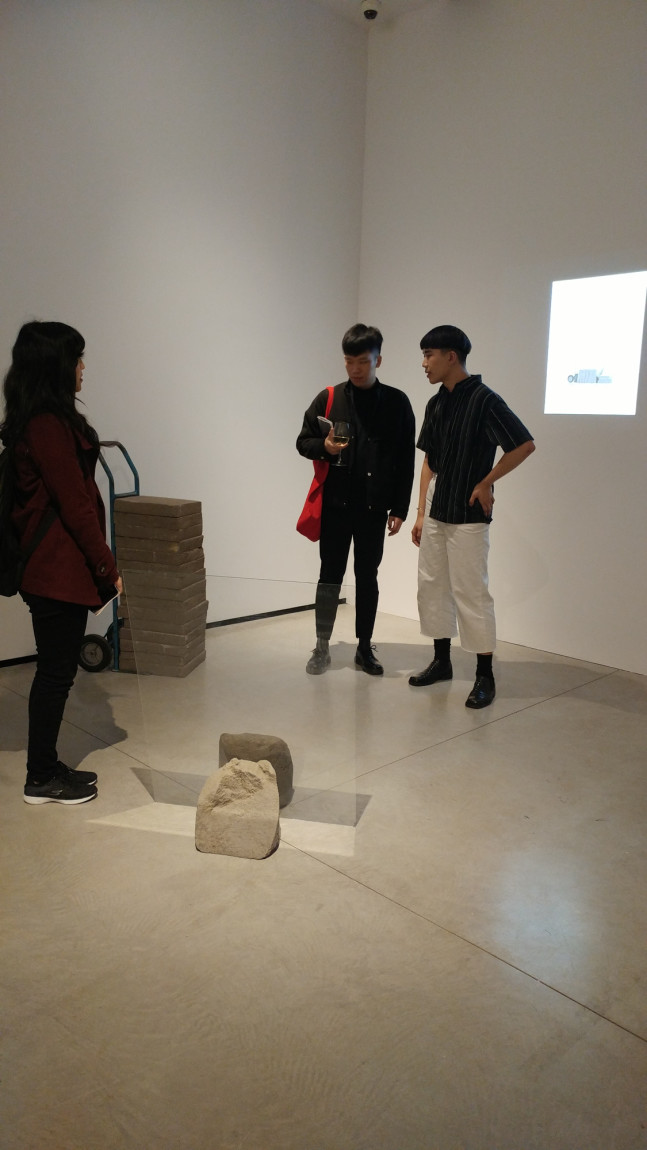 "Nico Yu ""interiority complex"" at Lazy Susan, Audain Gallery. Photo by Ash Tanasiychuk."