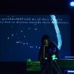 Cindy Mochizuki, Compass, performance at Digital Carnival 2017. Ash Tanasiychuk photo