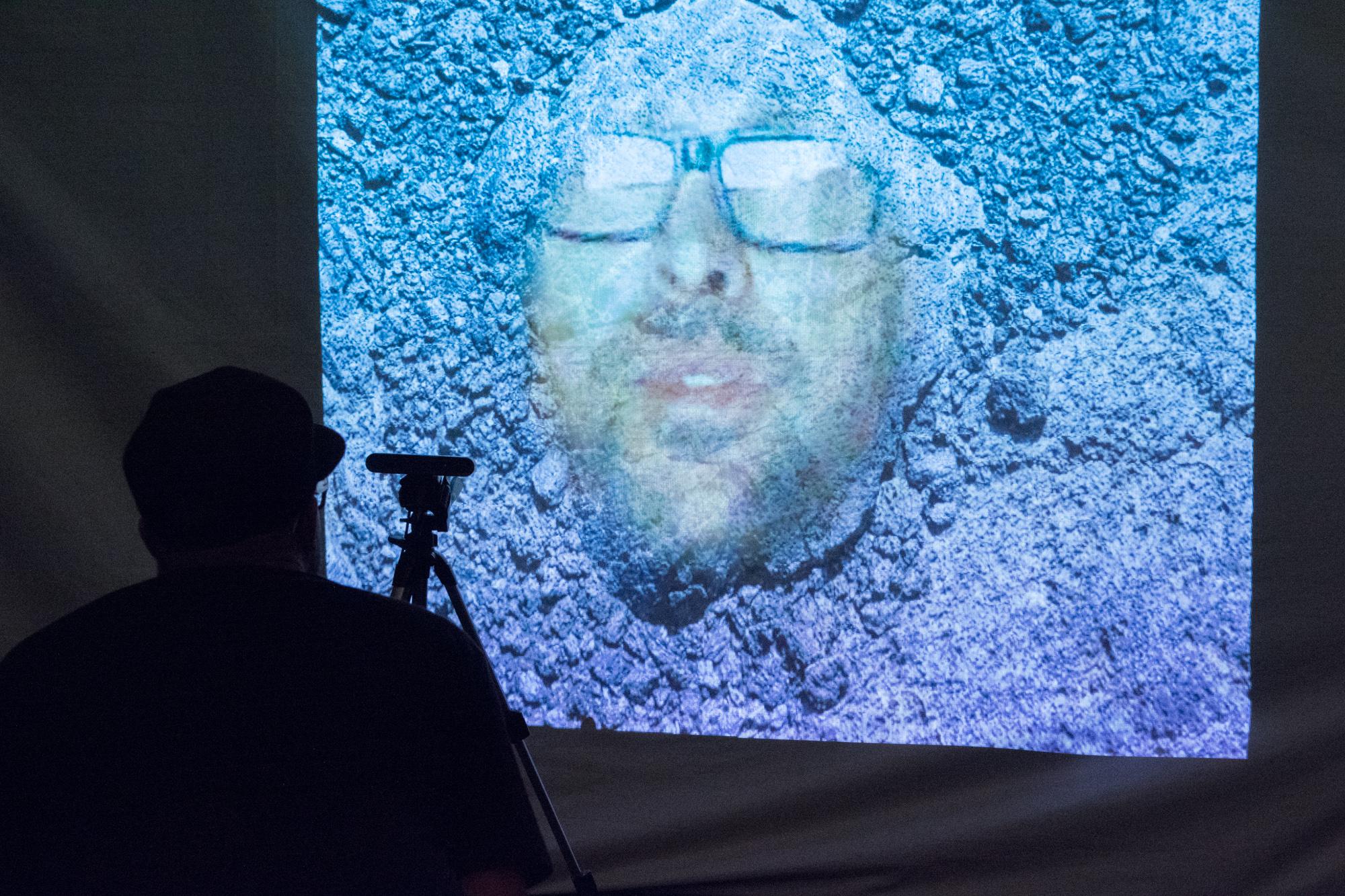 Laura Lee Coles & Rob Scharein - Earth Face. Ash Tanasiychuk photo.