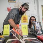 Vancouver Art Book Fair 2017. Photo by Rennie Brown