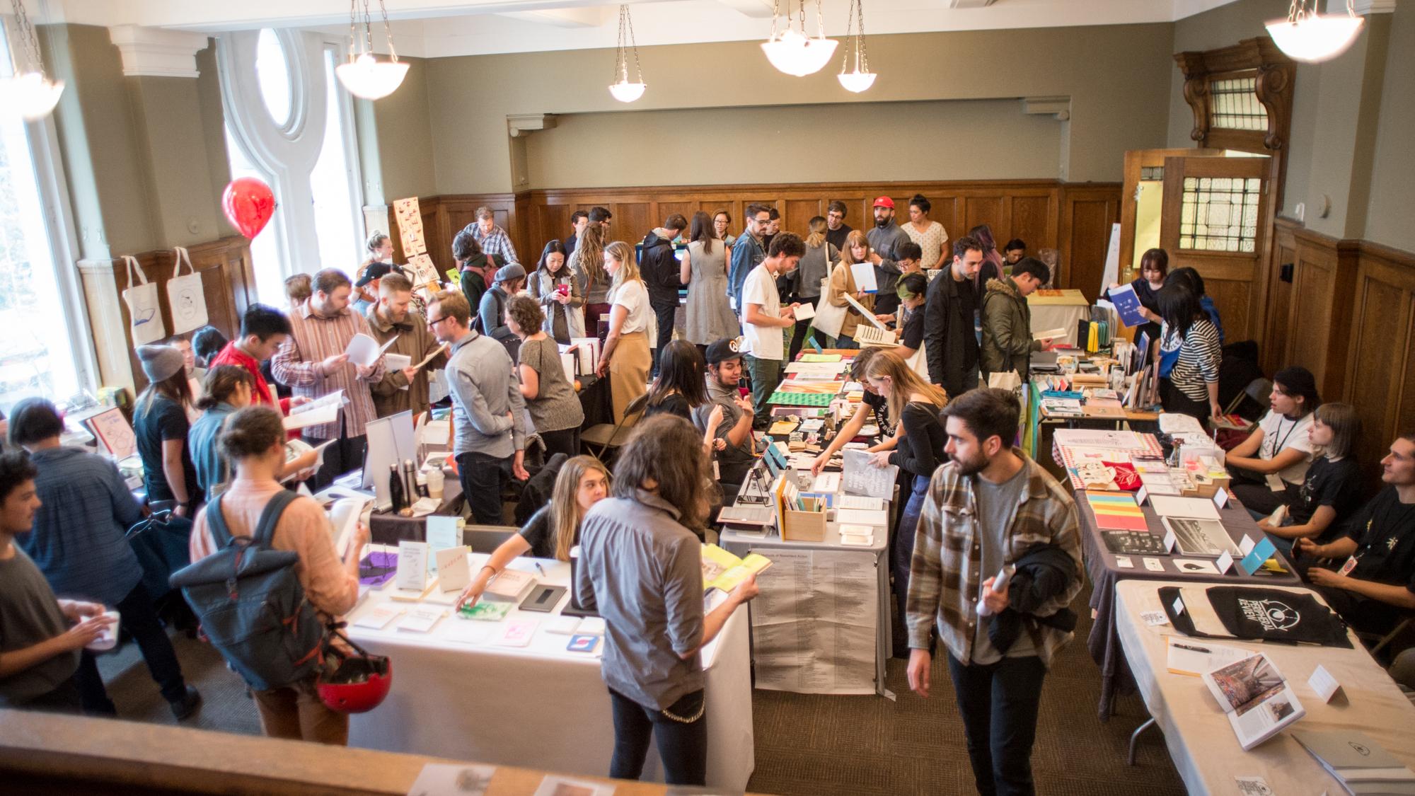 Vancouver Art Book Fair 2017. Photo by Bryce Hunnersen