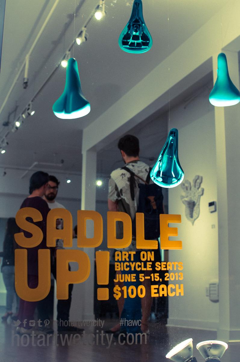 Saddle Up at Hot Art Wet City