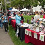 Fair In The Square, Victory Square, downtown Vancouver BC