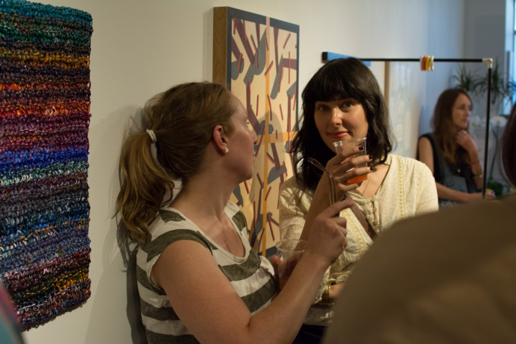 As It Is art opening at Wil Aballe Art Projects, Vancouver BC, Ash Tanasiychuk photo