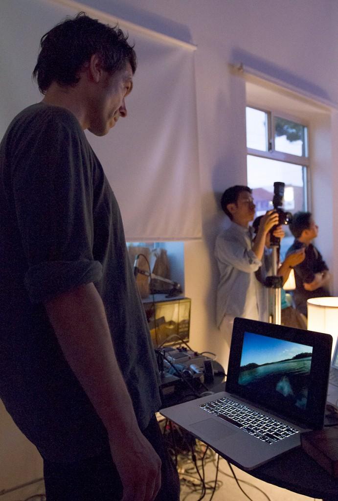 Video Bar at VIVO Media Arts, Vancouver BC, July 2013