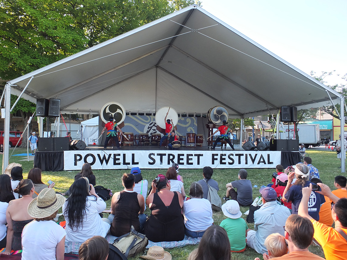 Powell Street Festival, Vancouver BC 2013