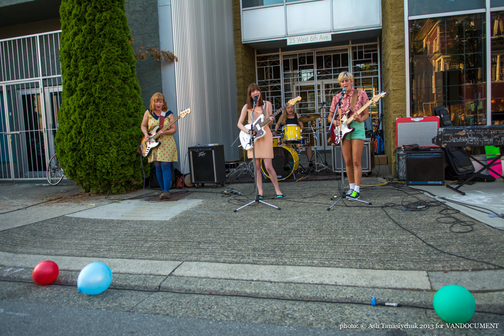 Movieland at Six Fest, East Vancouver 2013, photo by Ash Tanasiychuk