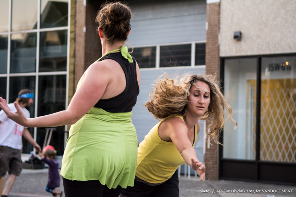 Polymer Dance at Six Fest, East Vancouver 2013, photo by Ash Tanasiychuk