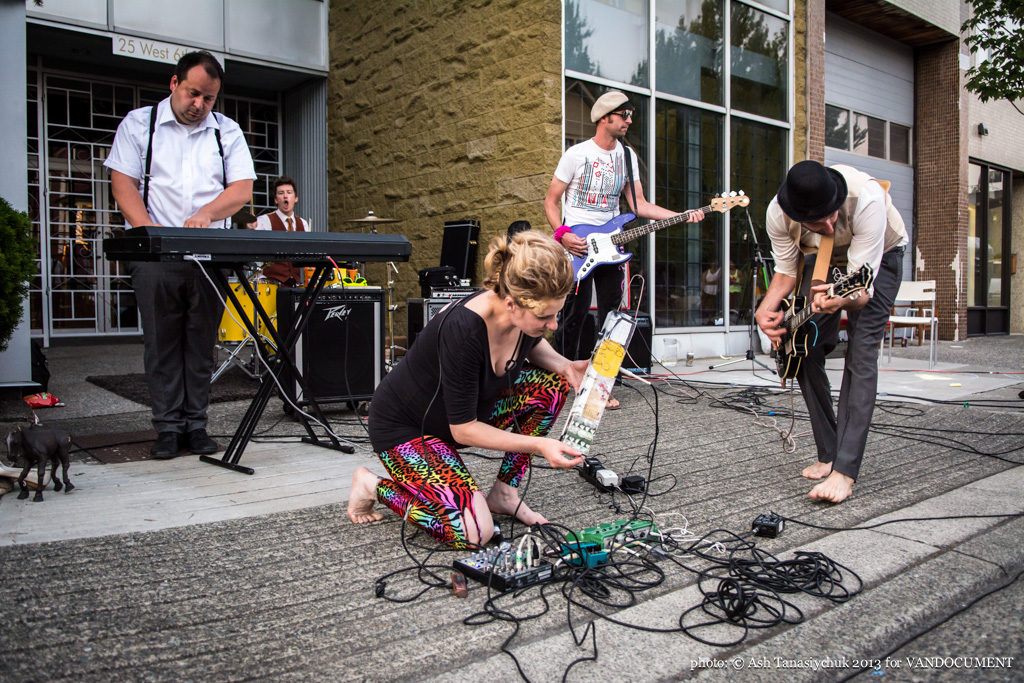 Tyranahorse at Six Fest, East Vancouver 2013, photo by Ash Tanasiychuk