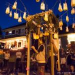Robert Leveroos lantern ritual at Six Fest, East Vancouver 2013, photo by Ash Tanasiychuk