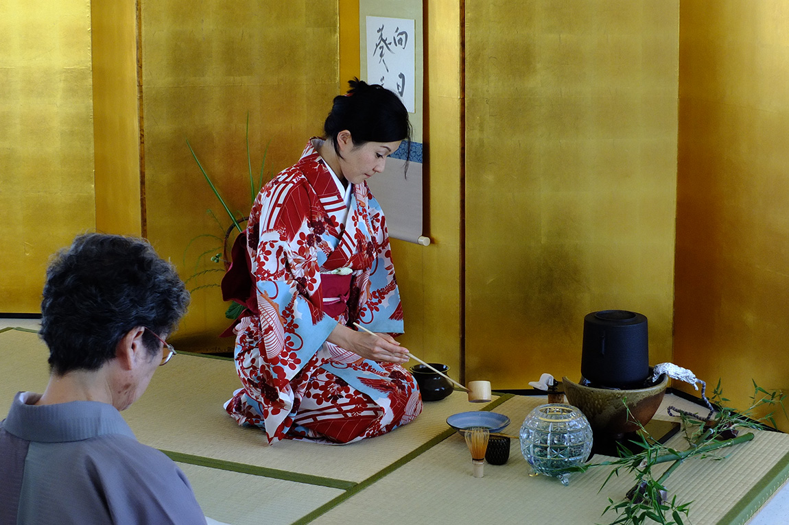 Tea Ceremony at Powell Street Festival, Vancouver BC 2013