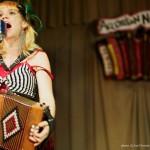 Renee De La Prade @ Accordion Noir Fest, Russian Hall, Vancouver BC, 2013. Photo by Jon Vincent for VANDOCUMENT