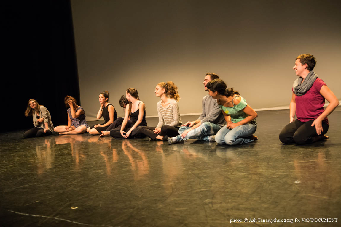 Project CPR at Scotiabank Dance Centre. September 4 2013. Photo by Ash Tanasiychuk for VANDOCUMENT