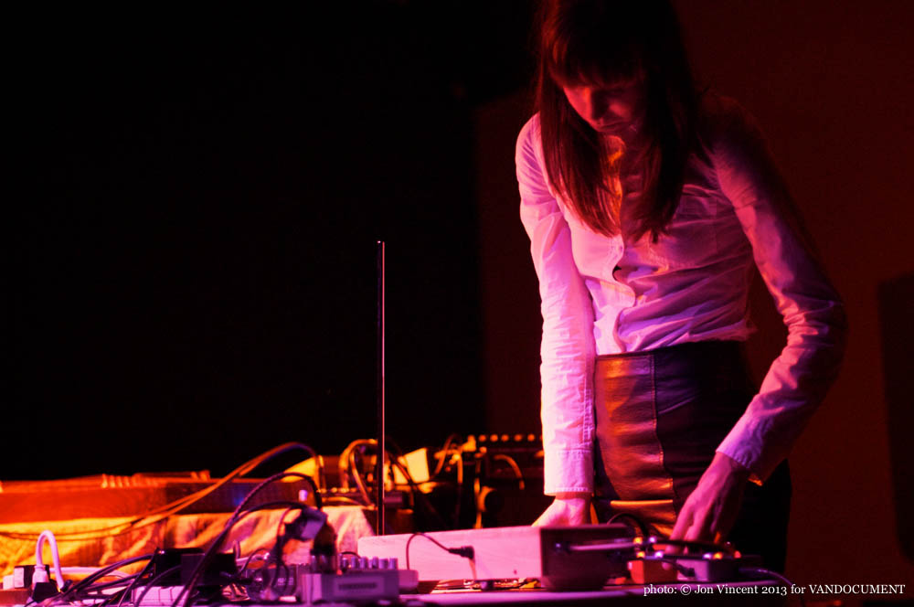 Rusalka performing at Destroy Vancouver, Snooze Fest @ VIVO, Sept 26 2013. Photo by Jon Vincent for VANDOCUMENT