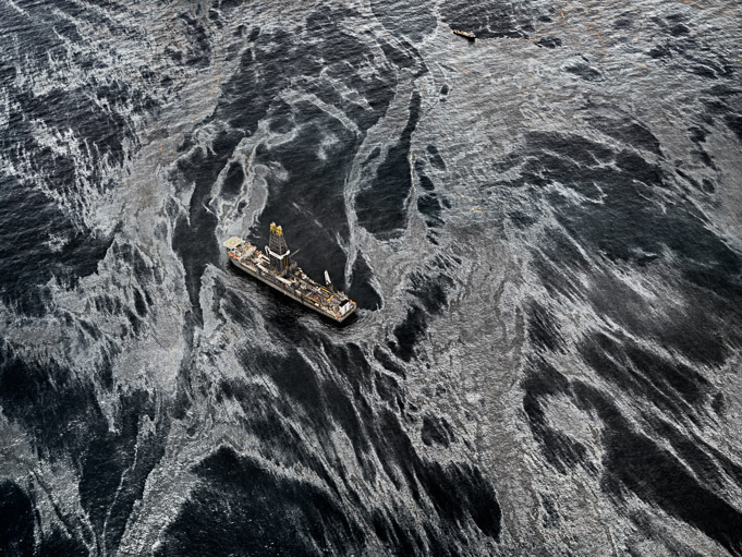 Oil Spill #2 (Discoverer Enterprise, Gulf of Mexico, May 11, 2010) by Edward Burtynsky