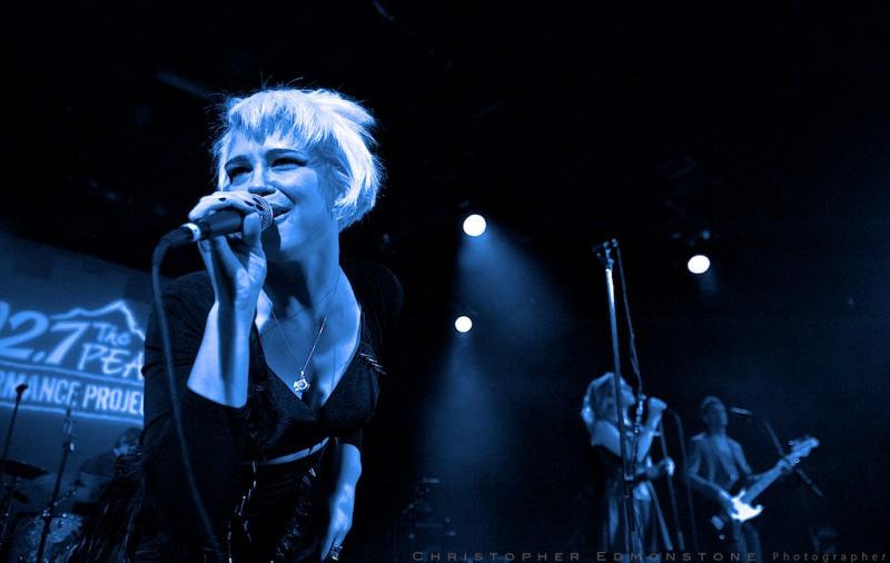 Rykka @ Peak Performance Finale, Commodore Ballroom, Vancouver BC 2013. Photo by Christopher Edmonstone for VANDOCUMENT