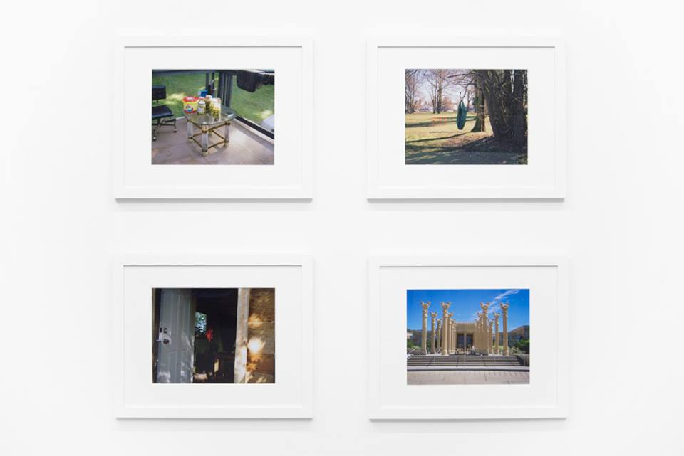 Bahar Habibi's work at Locate at Gallery 295, Vancouver B.C., 2014