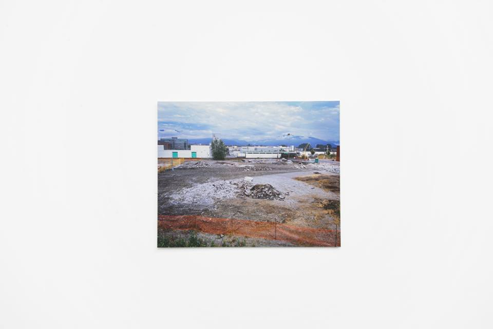 David Peters' work at Locate at Gallery 295, Vancouver B.C., 2014