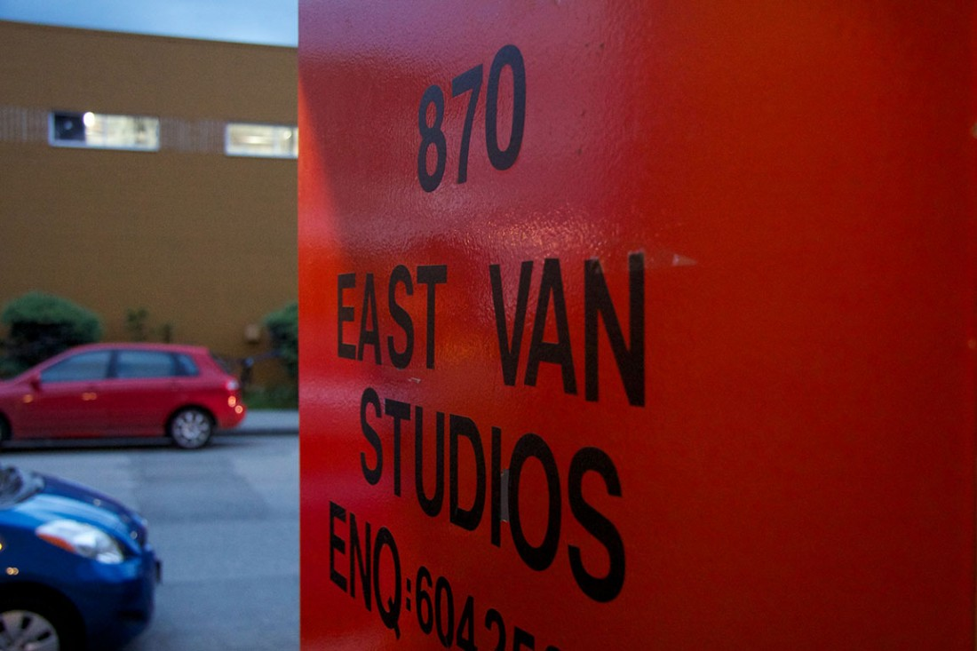Duality: An Art Experiment at East Van Studios, Vancouver BC, 2014. Photo by Ravi Gill for VANDOCUMENT