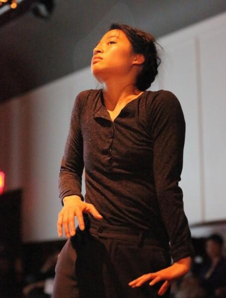 "Michelle Lui in ""Rendering Translations"" - Photo by Noriko Nasu-Tidball"