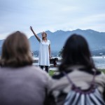 Various Artists in Dusk Dances at Granville Island, Vancouver BC 2014. Photo by Kendra Archer for VANDOCUMENT