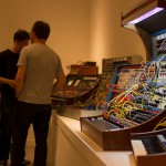 The Pioneering Work of Donald Buchla @ VIVO / Gallery 1965 at New Forms Festival, Vancouver BC, 2013. Photo by Alan Derksen for VANDOCUMENT