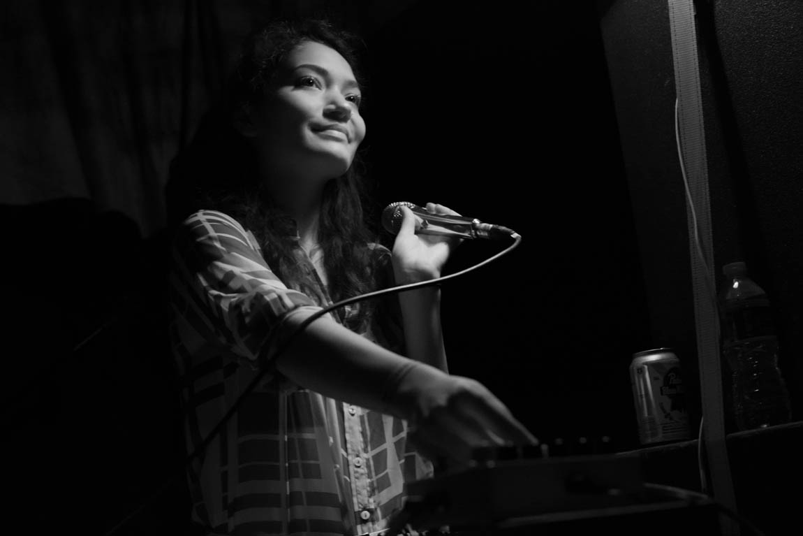 Evy Jane @ New Forms Festival 13, Vancouver BC, 2013. Photo by Ash Tanasiychuk for VANDOCUMENT